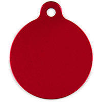 תג עגול אדום